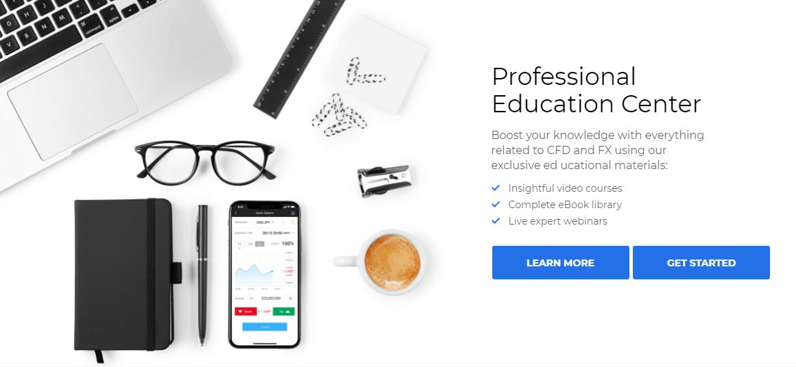 JP finance forex broker educational center