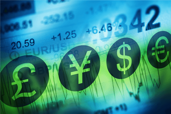 Forex trader symbols and currency market rates
