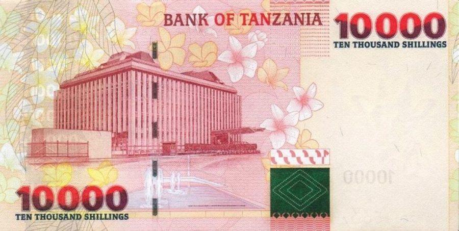 back of Tanzania