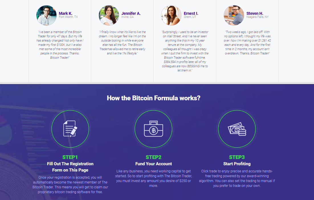 Bitcoin Formula Reviews - How does it work