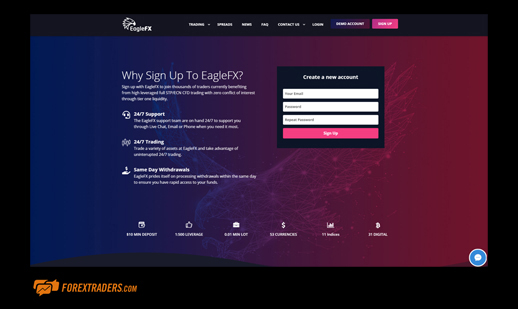 Signup-Eaglefx | Forextraders