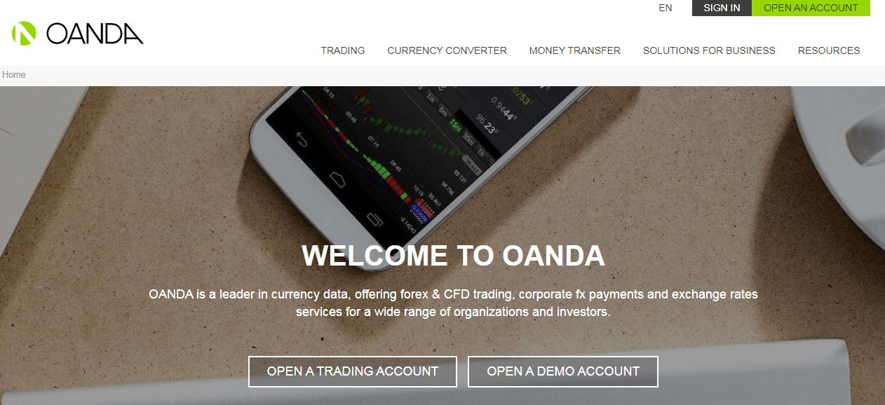 Oanda – Broker Platform