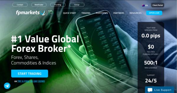 forex broker philippines - fp markets